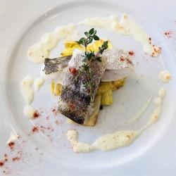 ランチ季節の魚料理変更のお知らせ