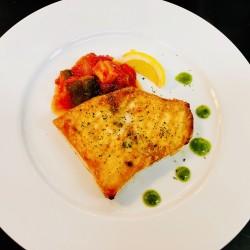 ランチ季節の魚料理変更